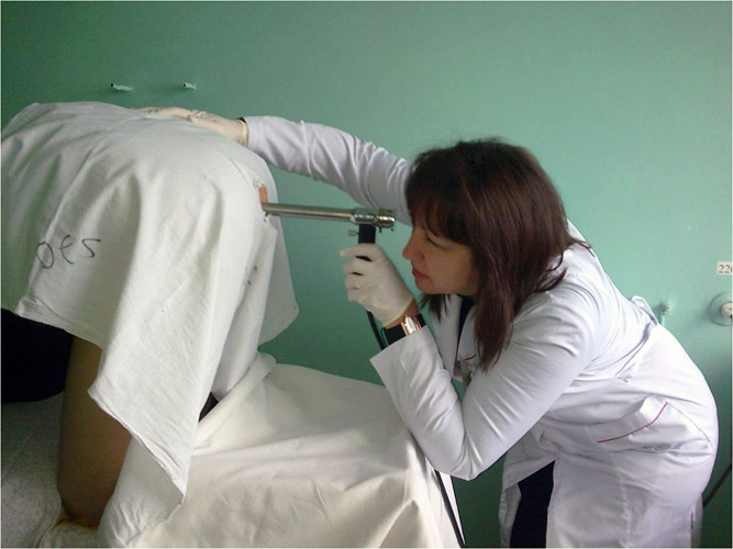 Ректороманоскопия фото